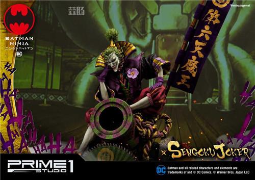 Prime 1 Studio 公布1:4《忍者小丑》第六天魔王版雕像 定价超万元! 模玩 第3张