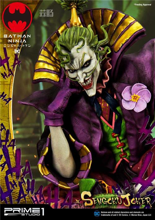 Prime 1 Studio 公布1:4《忍者小丑》第六天魔王版雕像 定价超万元! 模玩 第6张