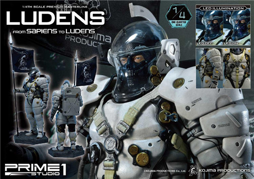 Prime 1 Studio推出小岛工作室  1/4 Ludens雕像 模玩 第7张