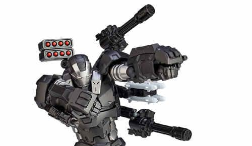 海洋堂转轮科技系列战争机器公布