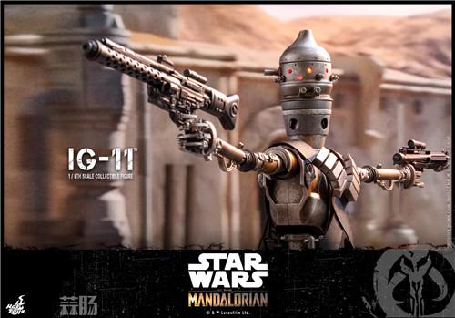 HT推出《曼达洛人》曼达洛人及 IG-11及星战9Cosbaby套装 模玩 第5张