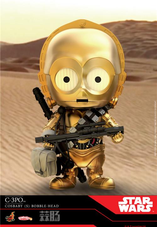 HT推出《曼达洛人》曼达洛人及 IG-11及星战9Cosbaby套装 模玩 第7张