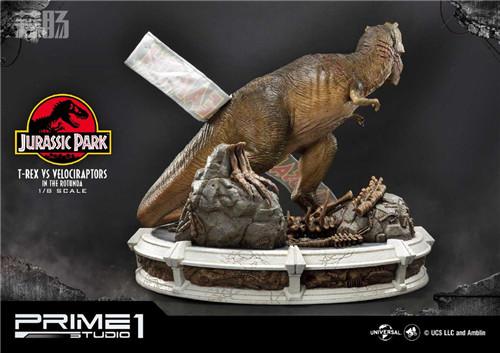 Prime 1 Studio 公布《侏罗纪公园 》霸王龙对决迅猛龙雕像 模玩 第5张