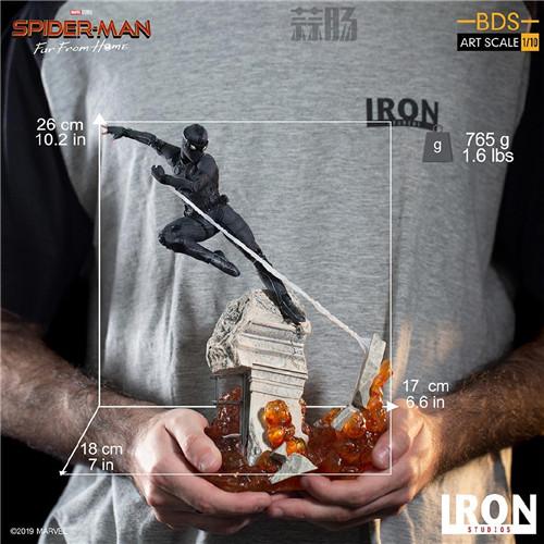 Iron Studio公布《蜘蛛侠:英雄远征》1:10蜘蛛侠雕像 模玩 第1张