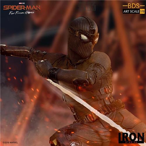 Iron Studio公布《蜘蛛侠:英雄远征》1:10蜘蛛侠雕像 模玩 第6张