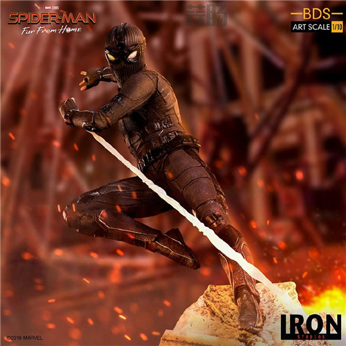 Iron Studio公布《蜘蛛侠:英雄远征》1:10蜘蛛侠雕像 模玩 第7张