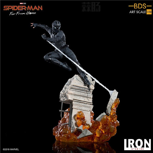 Iron Studio公布《蜘蛛侠:英雄远征》1:10蜘蛛侠雕像 模玩 第8张