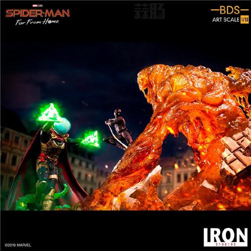 Iron Studio公布《蜘蛛侠:英雄远征》1:10蜘蛛侠雕像 模玩 第9张