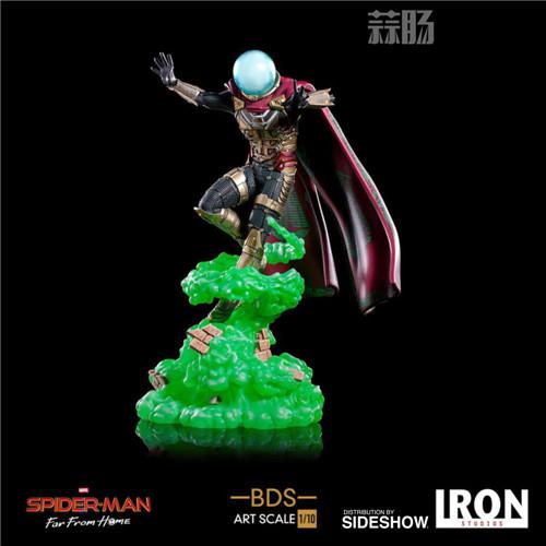 Iron Studio 发布电影《蜘蛛侠:英雄远征》1:10比例神秘客与熔岩人  模玩 第2张