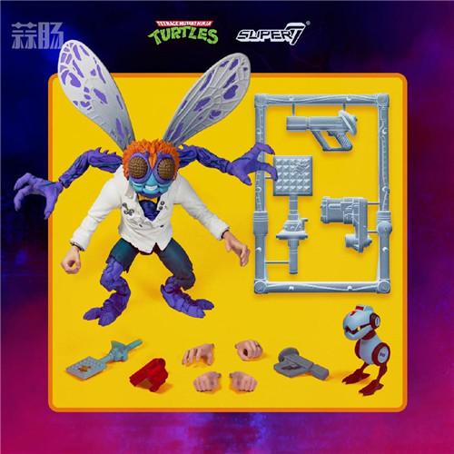 Super7 发布《忍者神龟》可动人偶官图 模玩 第4张