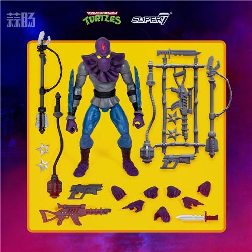 Super7 发布《忍者神龟》可动人偶官图 模玩 第3张