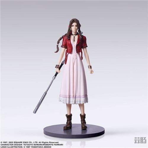 SE推出《最终幻想7:重制版》食玩 蒂法脸略残念 模玩 第9张