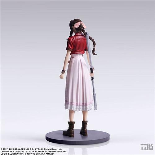 SE推出《最终幻想7:重制版》食玩 蒂法脸略残念 模玩 第12张