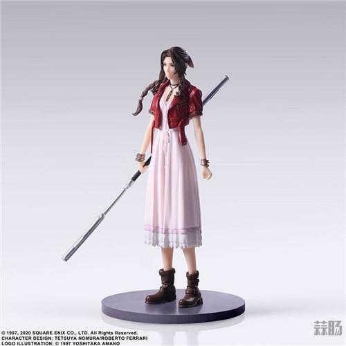 SE推出《最终幻想7:重制版》食玩 蒂法脸略残念 模玩 第10张