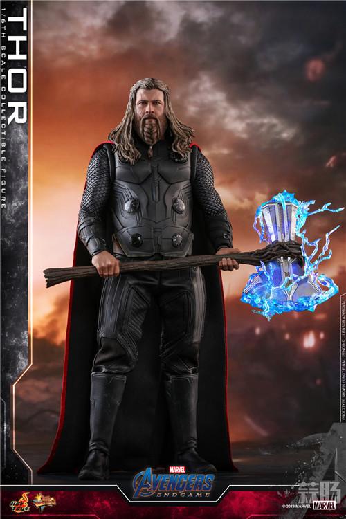 Hot Toys推出《复仇者联盟4》雷神及绿巨人浩克1:6比例珍藏人偶 模玩 第5张
