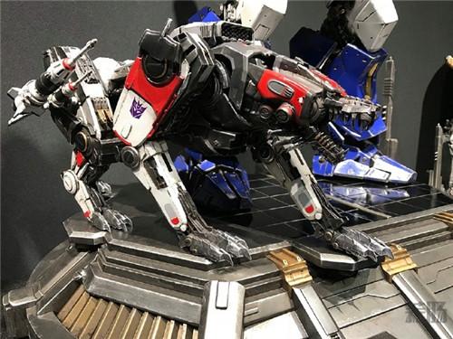 Prime 1 Studio公开《大黄蜂》电影版声波涂装雕像实体图 变形金刚 第2张