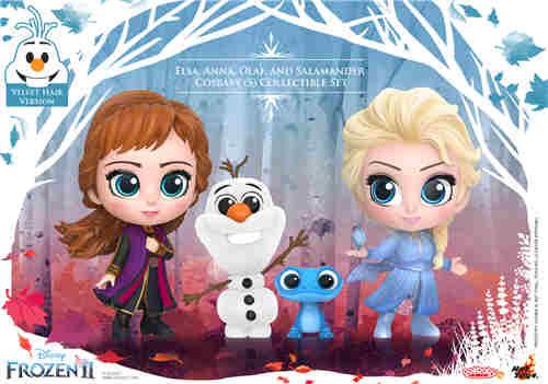 Hot Toys 推出《冰雪奇缘2》与《沉睡魔咒2》COSBABY迷你人偶