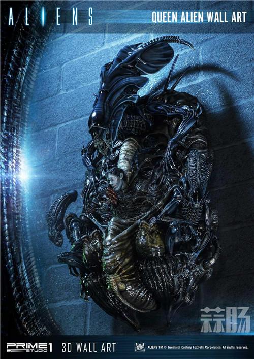 Prime 1 Studio公布异形女王3D墙上摆件 模玩 第2张