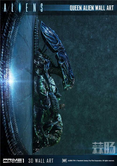 Prime 1 Studio公布异形女王3D墙上摆件 模玩 第3张