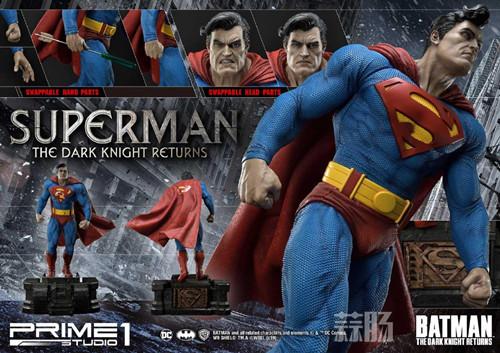 Prime 1 Studio 发布1:3《黑暗骑士归来》超人雕像 模玩 第3张