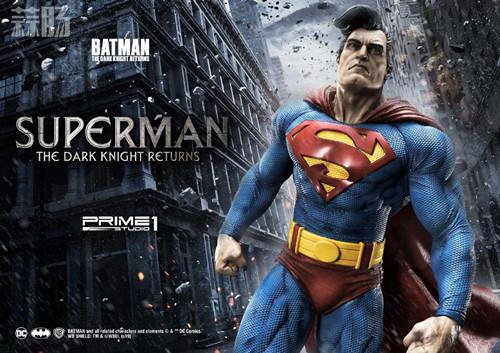 Prime 1 Studio 发布1:3《黑暗骑士归来》超人雕像 模玩 第2张