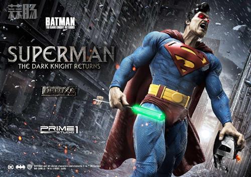 Prime 1 Studio 发布1:3《黑暗骑士归来》超人雕像 模玩 第1张