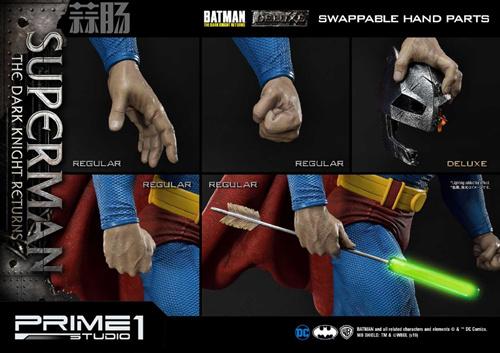 Prime 1 Studio 发布1:3《黑暗骑士归来》超人雕像 模玩 第5张