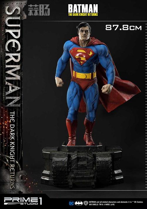Prime 1 Studio 发布1:3《黑暗骑士归来》超人雕像 P1S 蝙蝠侠 超人 黑暗骑士归来 Prime 1 Studio 模玩  第7张