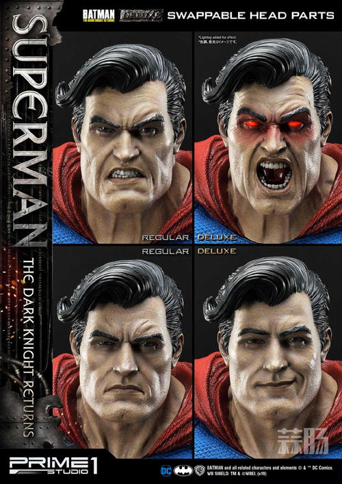 Prime 1 Studio 发布1:3《黑暗骑士归来》超人雕像 模玩 第6张