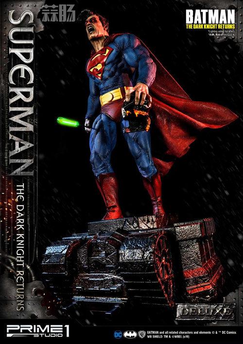 Prime 1 Studio 发布1:3《黑暗骑士归来》超人雕像 模玩 第9张