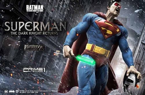 Prime 1 Studio 发布1:3《黑暗骑士归来》超人雕像