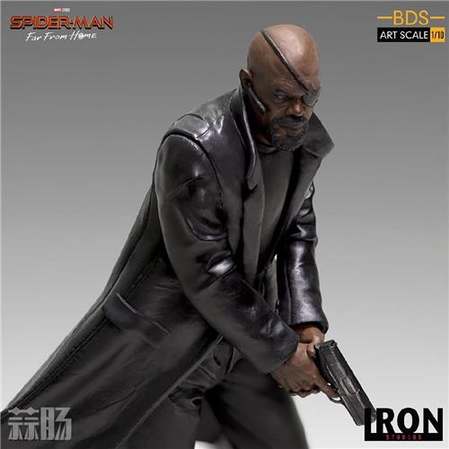 Iron Studios 公布《蜘蛛侠:英雄远征》尼克弗瑞雕像 模玩 第1张
