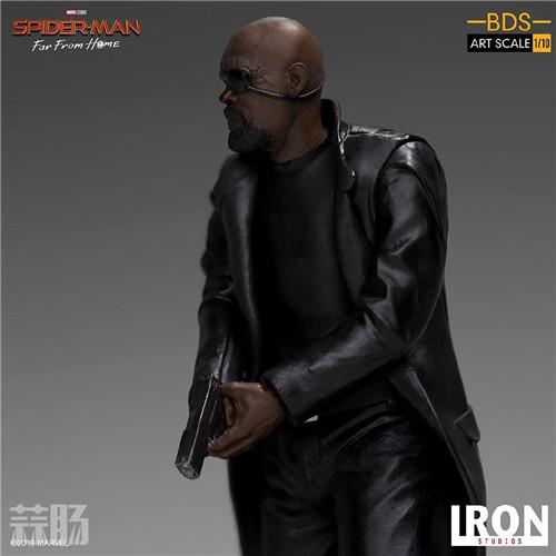 Iron Studios 公布《蜘蛛侠:英雄远征》尼克弗瑞雕像 模玩 第2张