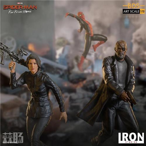 Iron Studios 公布《蜘蛛侠:英雄远征》尼克弗瑞雕像 模玩 第8张