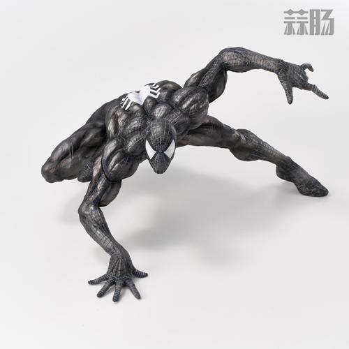 千值练SOFBINA系列再添一员——蜘蛛侠黑色战服 模玩 第2张