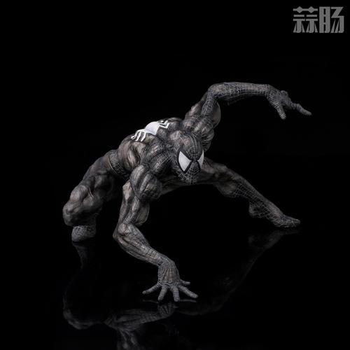 千值练SOFBINA系列再添一员——蜘蛛侠黑色战服 模玩 第5张