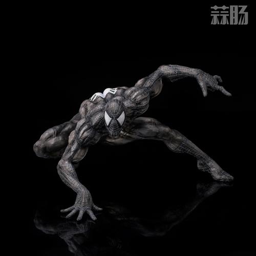 千值练SOFBINA系列再添一员——蜘蛛侠黑色战服 模玩 第4张
