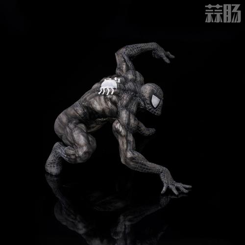 千值练SOFBINA系列再添一员——蜘蛛侠黑色战服 模玩 第6张