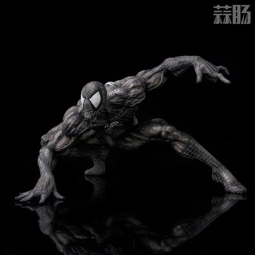 千值练SOFBINA系列再添一员——蜘蛛侠黑色战服 模玩 第8张