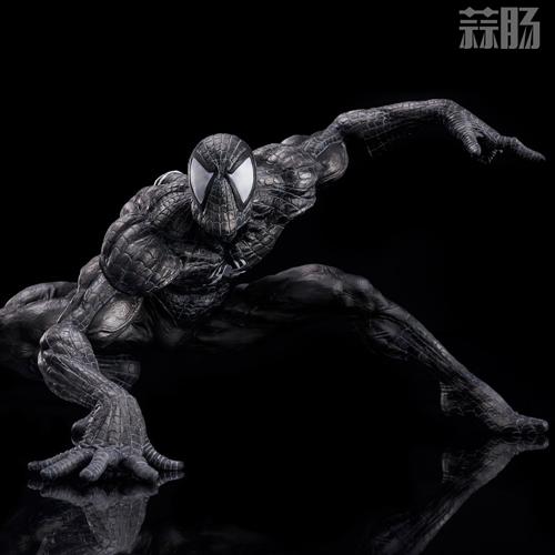 千值练SOFBINA系列再添一员——蜘蛛侠黑色战服 模玩 第9张