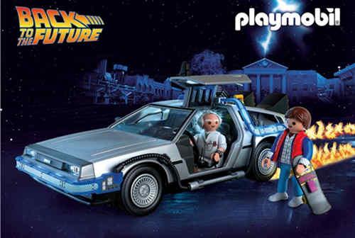 Playmobil 将推出《回到未来》系列玩具 以纪念电影放映35周年
