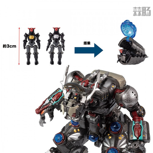 TakaraTomy更新戴亚克隆DA-50 瓦鲁达王宣传图 模玩 第10张