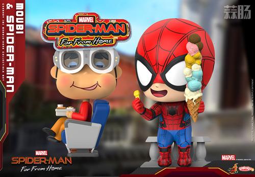 Hot Toys《蜘蛛侠:英雄远征》MOVBI 及蜘蛛侠 COSBABY (S) 迷你珍藏人偶 模玩 第1张