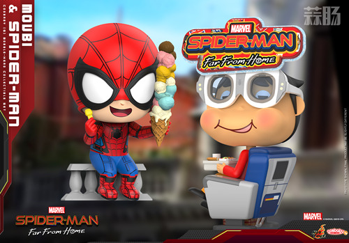 Hot Toys《蜘蛛侠:英雄远征》MOVBI 及蜘蛛侠 COSBABY (S) 迷你珍藏人偶 模玩 第2张