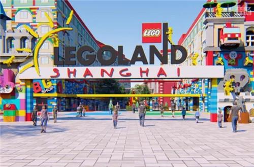乐高乐园将落户中国上海为中国第三座乐高乐园 LEGO 上海 乐高乐园 乐高 模玩  第1张