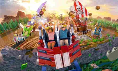 乐高乐园将落户中国上海为中国第三座乐高乐园