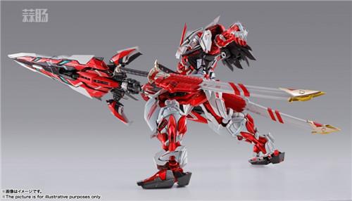 万代公布METAL BUILD 异端高达红色机改 模玩 第8张