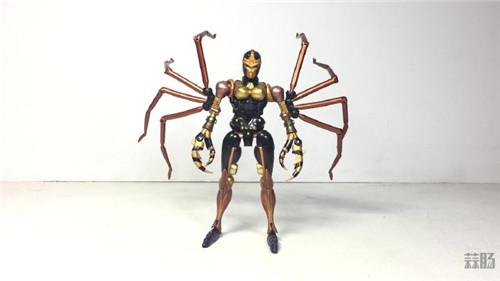 变形金刚大师系列MP-46蜘蛛勇士实物图公开 变形金刚 第1张