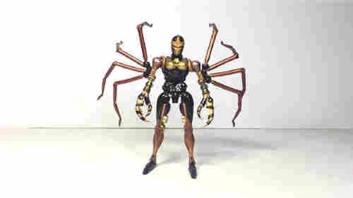 变形金刚大师系列MP-46蜘蛛勇士实物图公开
