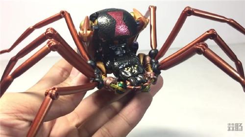 变形金刚大师系列MP-46蜘蛛勇士实物图公开 变形金刚 第3张